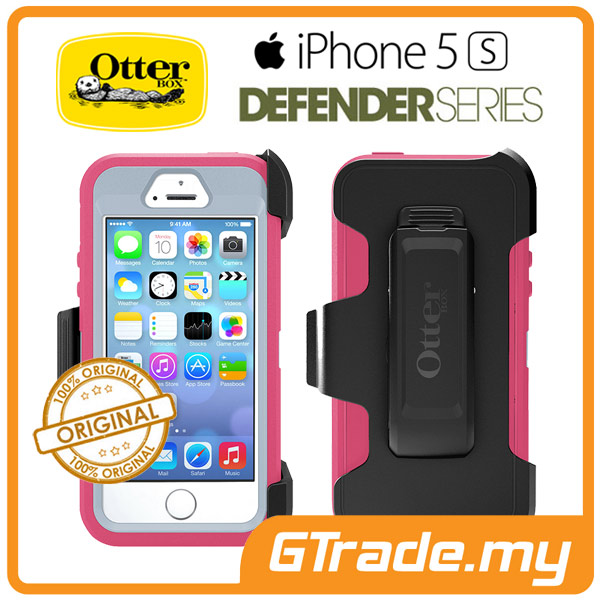 OTTERBOX Defender Case + Klip Holster | Apple iPhone 5S SE - W.Orchid