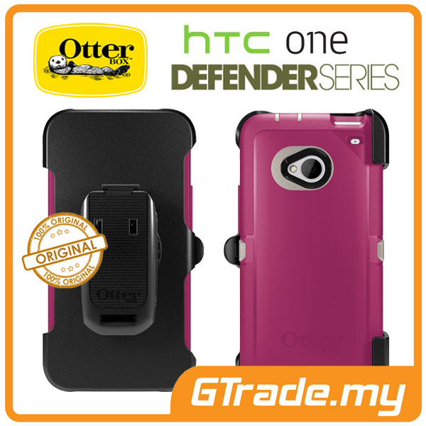 OTTERBOX Defender Case + Klip Holster | HTC One M7 - Blush