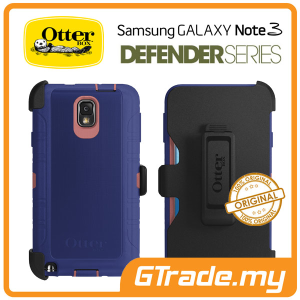 OTTERBOX Defender Case + Klip Holster |Samsung Galaxy Note 3 - Berry