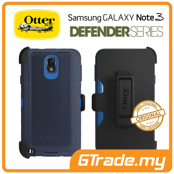 OTTERBOX Defender Case + Klip Holster | Samsung Galaxy Note 3 - Surf