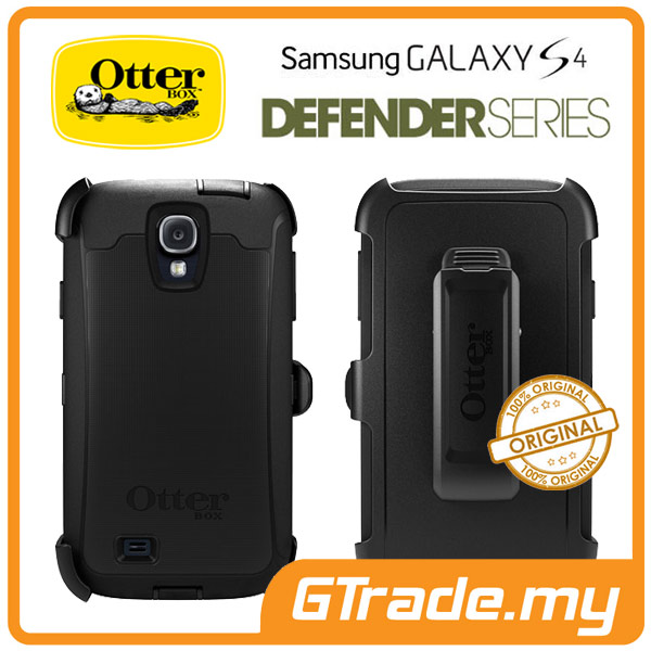 OTTERBOX Defender Case + Klip Holster | Samsung Galaxy S4 - Black