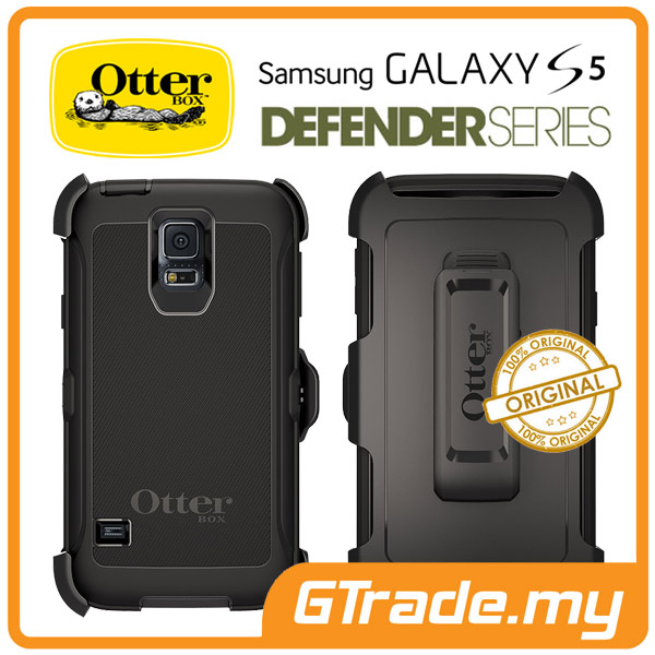 OTTERBOX Defender Case + Klip Holster |Samsung Galaxy S5 - Black
