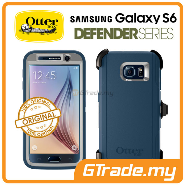 OTTERBOX Defender Case + Klip Holster | Samsung Galaxy S6 Casual Blue