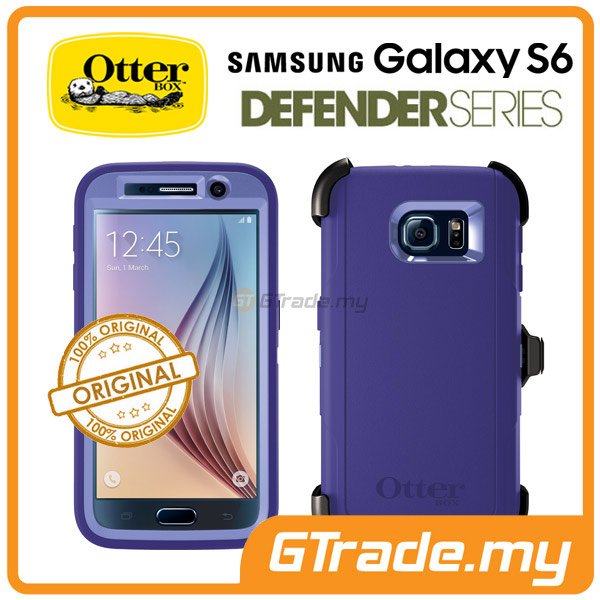 OTTERBOX Defender Case + Klip Holster | Samsung Galaxy S6 Purple.Amt