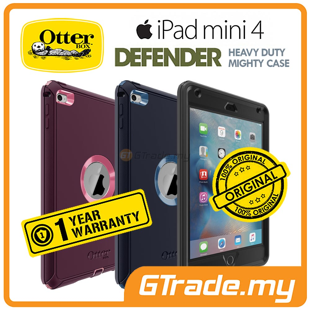 OTTERBOX Defender Heavy Duty Rugged Tablet Case | Apple iPad Mini 4