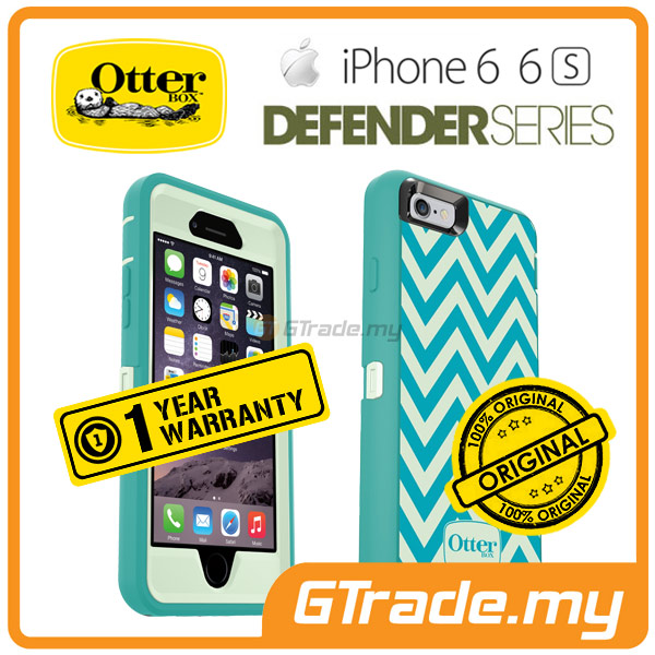 OTTERBOX Defender Klip Holder Tough Case | Apple iPhone 6S 6 - Wave