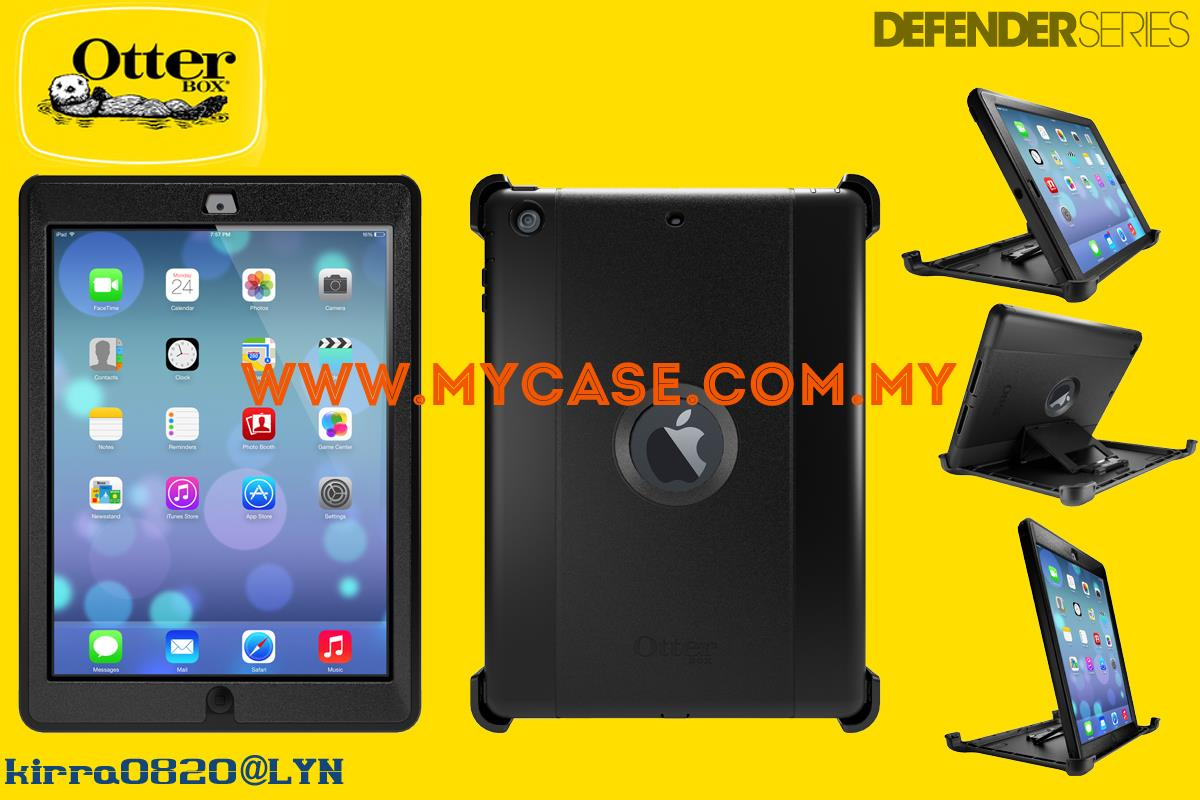 Otterbox Defender Series iPad Air Case Black