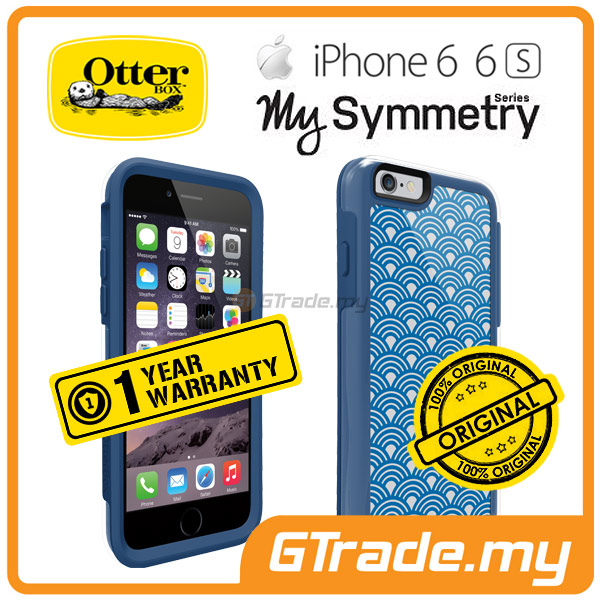 OTTERBOX MySymmetry Designer Style Case | Apple iPhone 6S 6 - Royal