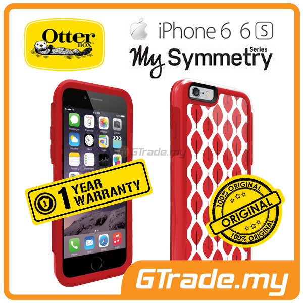 OTTERBOX MySymmetry Designer Style Case | Apple iPhone 6S 6 - Scarlet