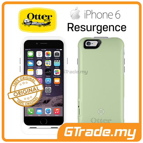 OTTERBOX Resurgence Power Battery Case 2600 mah Apple iPhone 6S 6 ICE