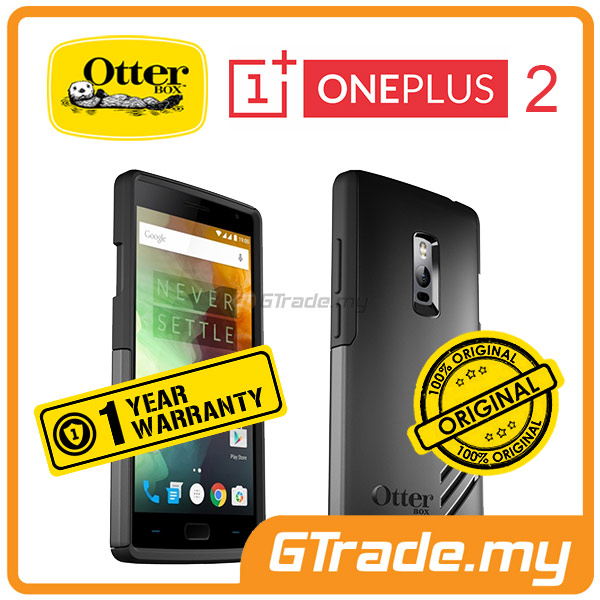 OTTERBOX Slim Protect Tough Case | OnePlus One Plus 2 Two 2 - Black