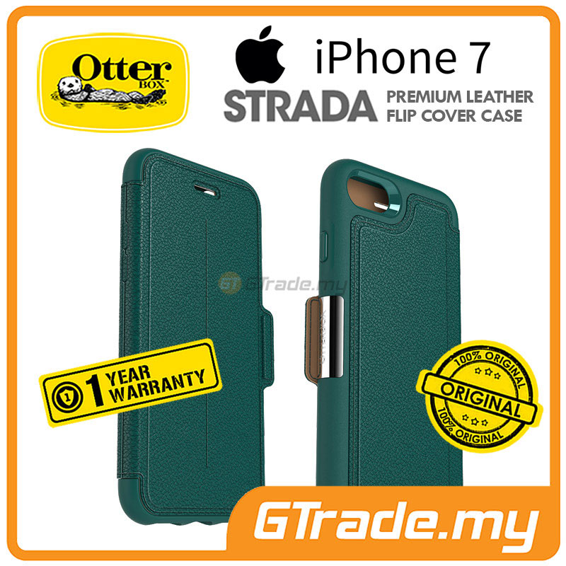 OTTERBOX Strada Premium Leather Case | Apple iPhone 7 - Pacific Opal