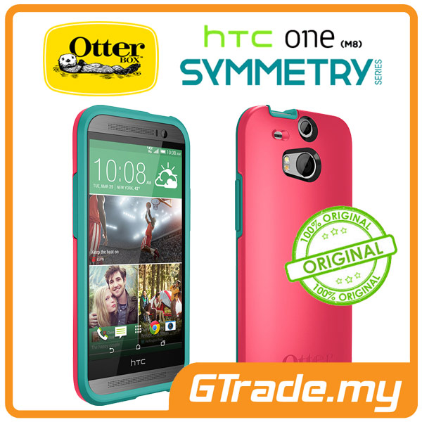 OTTERBOX Symmetry Case   HTC One M8 - Teal Rose