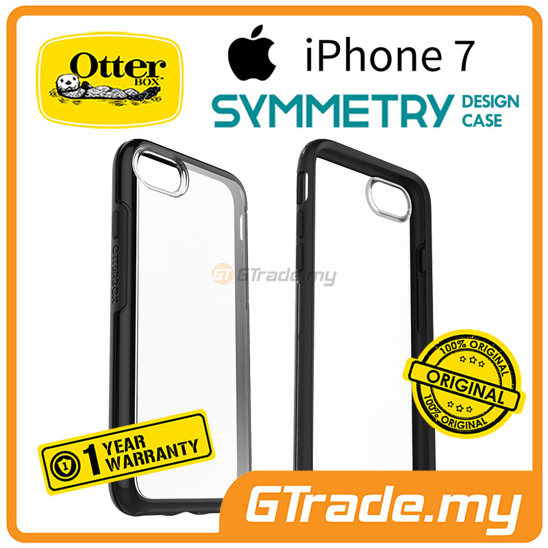 OTTERBOX Symmetry Clear Slim Tough Case | Apple iPhone 7 Clear Black