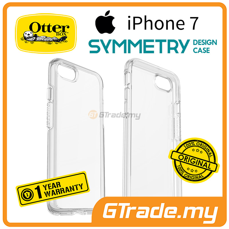 OTTERBOX Symmetry Clear Slim Tough Case | Apple iPhone 7 Clear