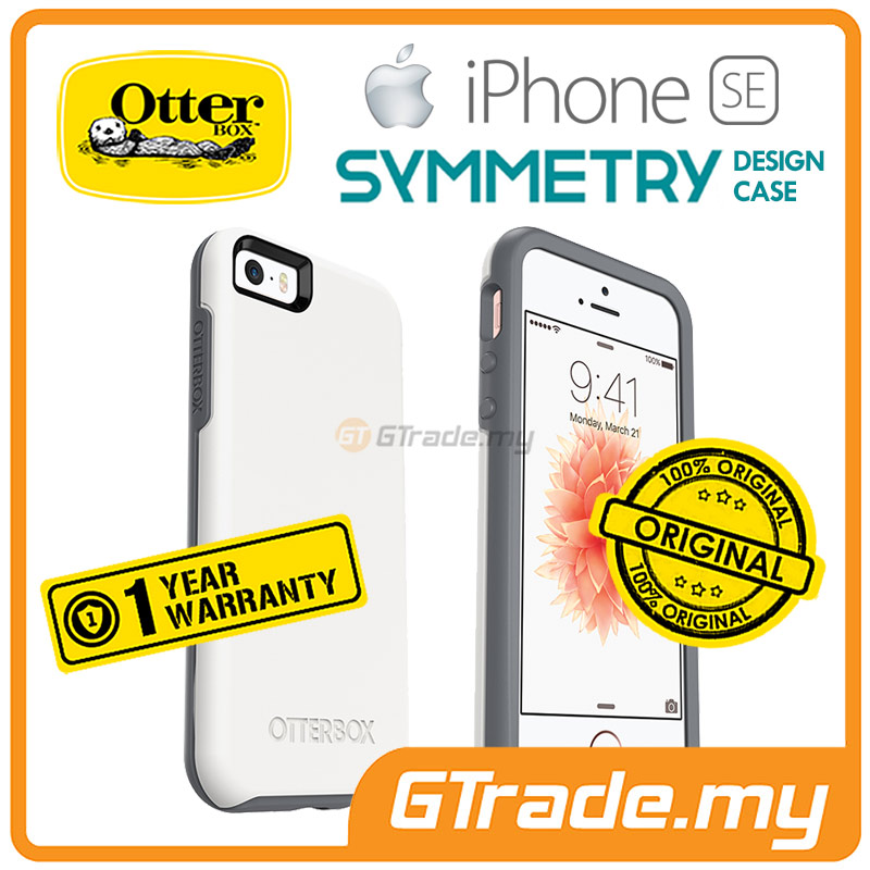 OTTERBOX Symmetry Slim Tough Case | Apple iPhone SE 5S 5 - Glacier