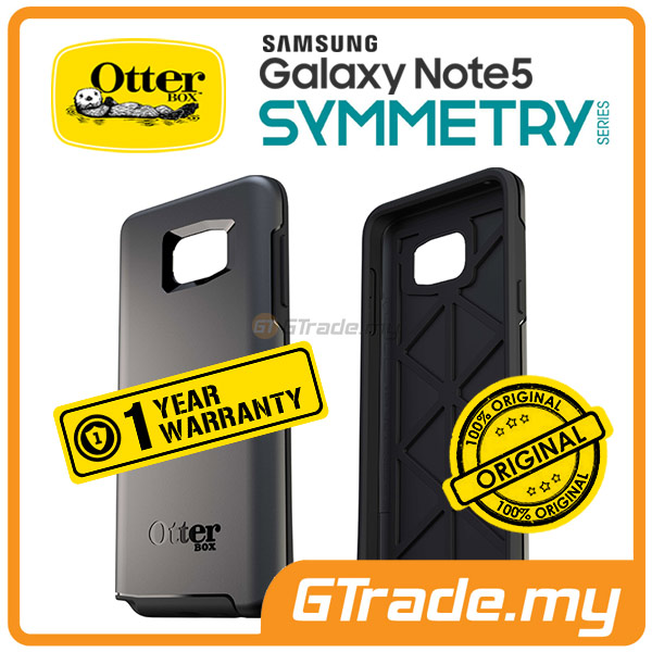OTTERBOX Symmetry Slim Tough Case | Samsung Galaxy Note 5 - Black