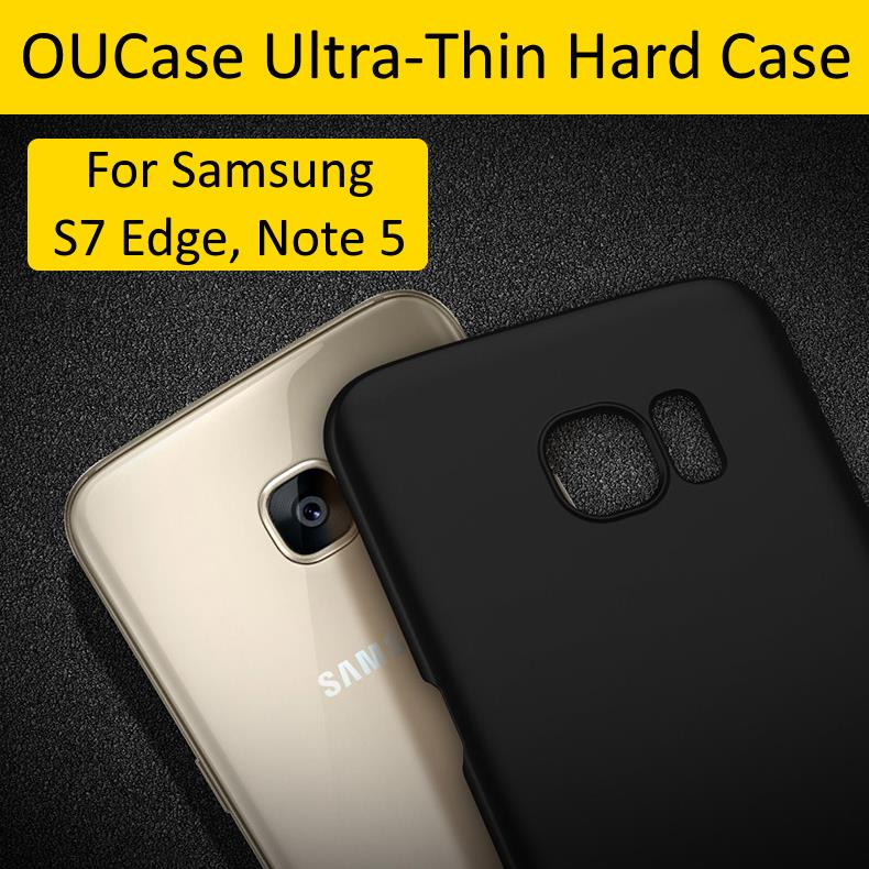 OUCase Samsung S7 Edge,Note 5 Jane Wind Series Ultra Thin Hard Case