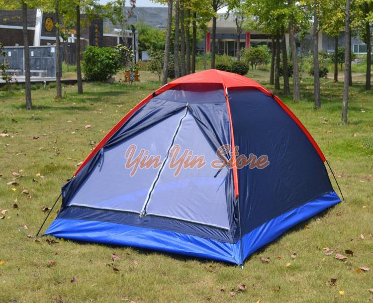 Outdoor Camping Tent For 3-4 Persons Mosquito Net
