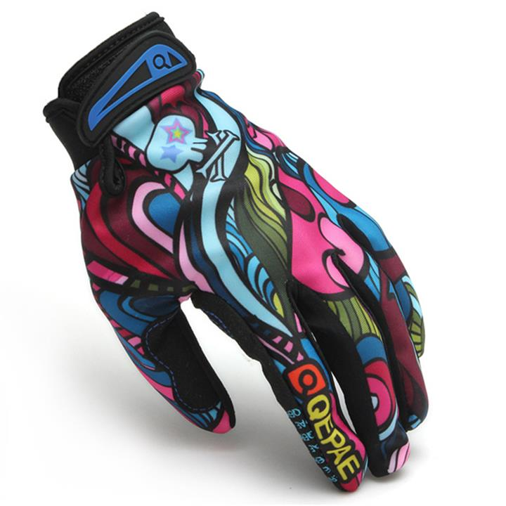 Outdoor Cycling Gloves (Red)