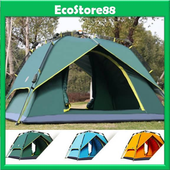 Outdoor Double Layer 2 in 1 Camping Tent