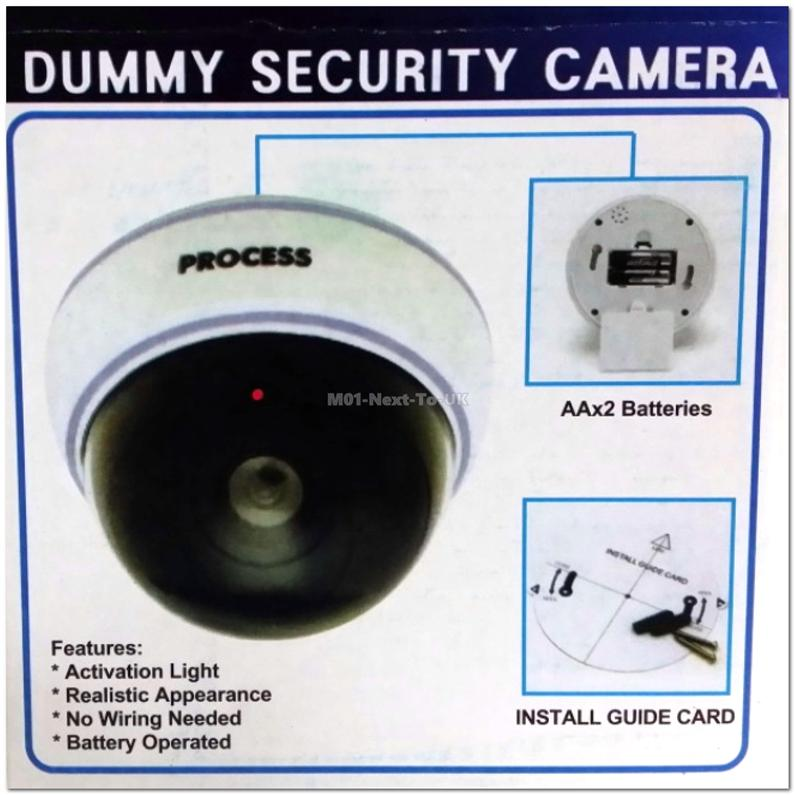 Outdoor Indoor Security Burglar Fake CCTV Surveillance Dummy Cameras F