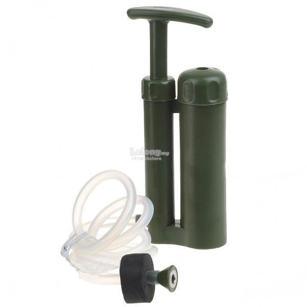 Outdoor Survival Water Filter Purifier Pump Drinking Pipe Cleaner For