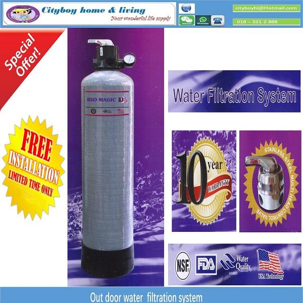 OUTDOOR WATER FILTER (FIBRE)