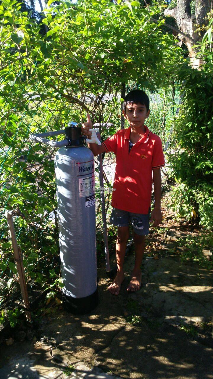 outdoor water filter   / penapis air