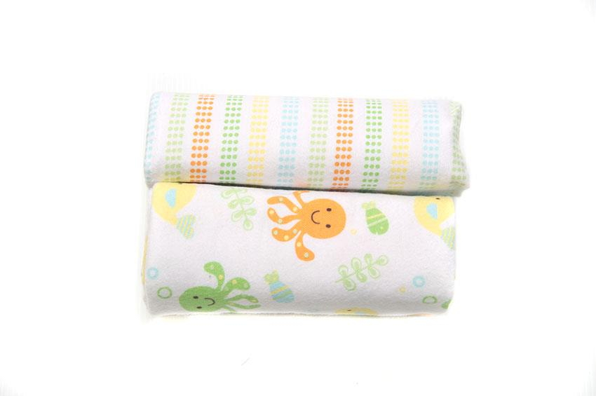OWEN 2pc Receiving Blankets – Yellow