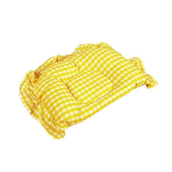 OWEN Semi-Circle Pillow - Yellow