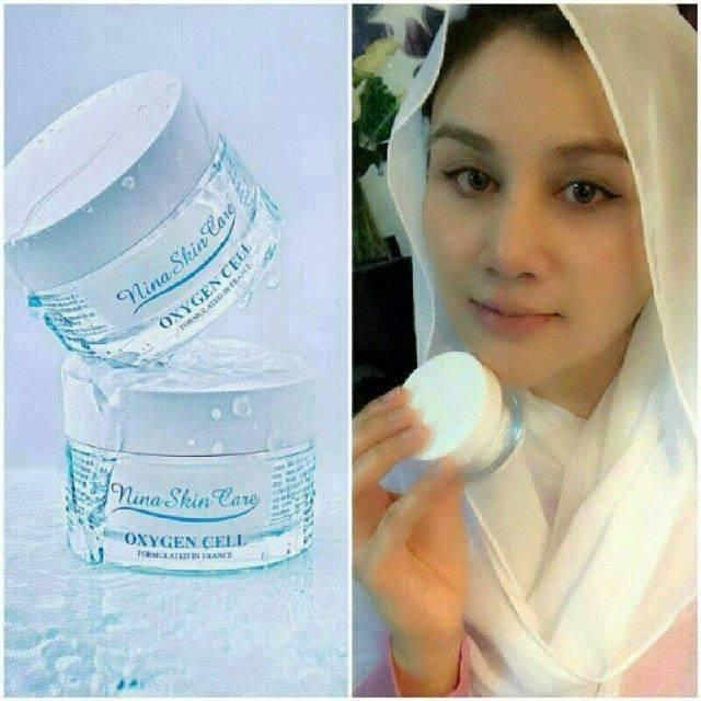OXYGEN CELL CREAM BY NINA SKINCARE