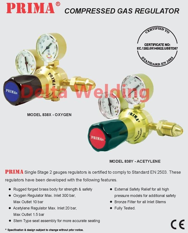 Oxygen Welding Malaysia Regulator Single Stage