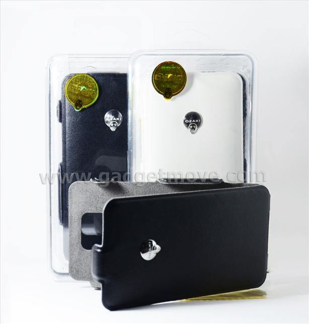 OZAKI Leather Flip Case for Samsung Galaxy S2 cover Pouch Bag