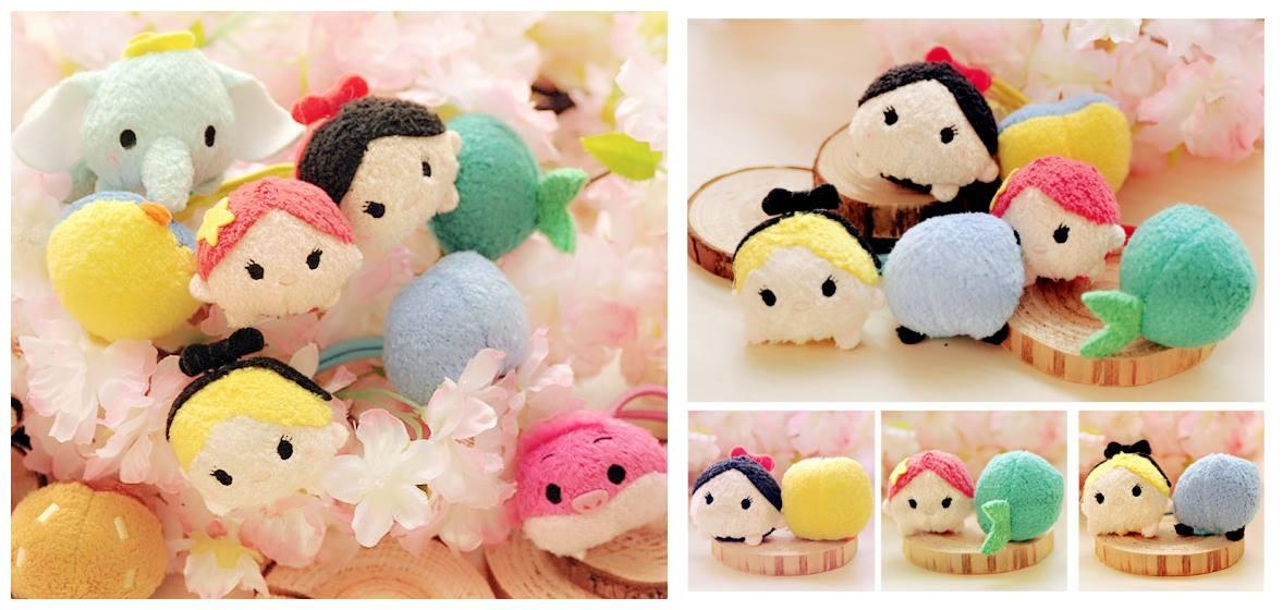 PA0067 PRINCESS SERIES TSUM TSUM HAIRSTRING