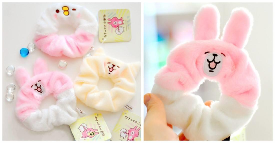 PA0086 CUTIE KANAHEI SERIES FABRIC HAIR TIE