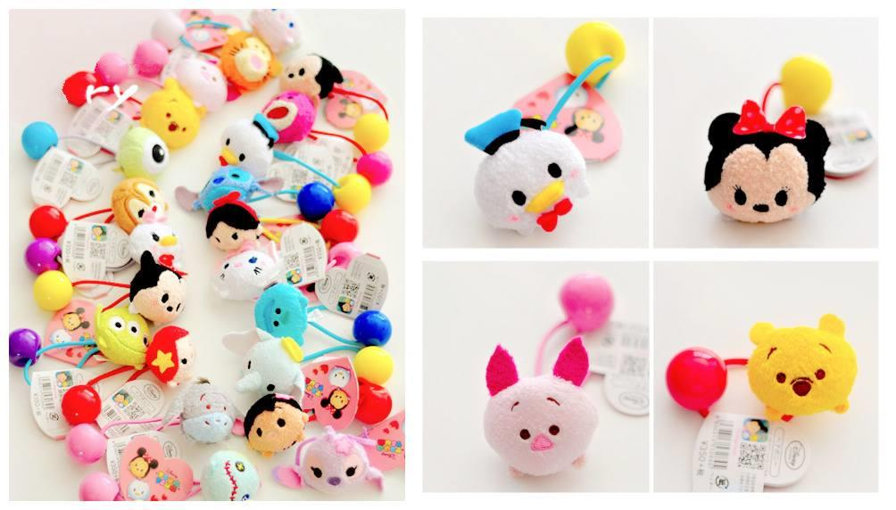 PA0092 TSUM TSUM CARTOON HAIRSTRING