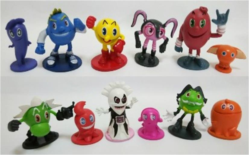 Pac-Man Toy Figures - PACCT01