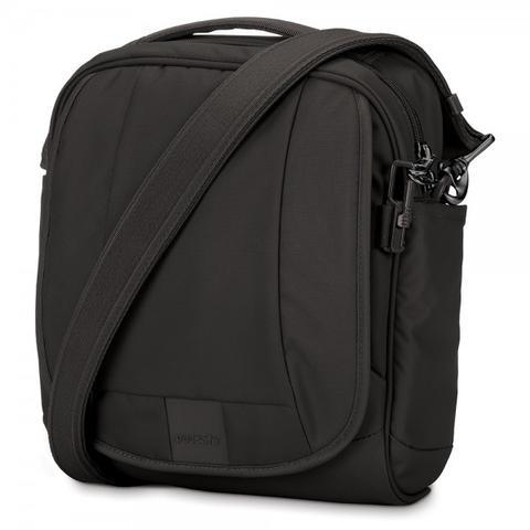 PACSAFE METROSAFE LS200 ANTI-THEFT SHOULDER BAG - BLACK