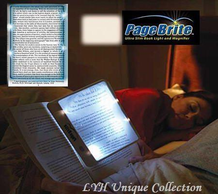 Page Brite Ultra Slim Book LED Light & Magnifier