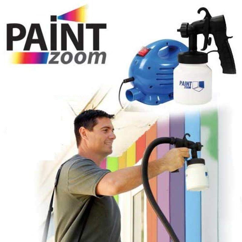 paint zoom professional electric paint sprayer paint gun 3 way spray. Black Bedroom Furniture Sets. Home Design Ideas