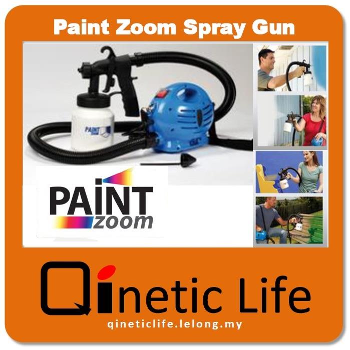 paint zoom spray gun copper nozzle head and aluminium paint container. Black Bedroom Furniture Sets. Home Design Ideas