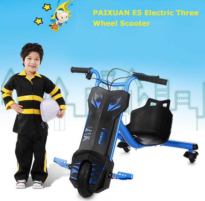 PAIXUAN E5 Electrical Drifting Trike Scooter