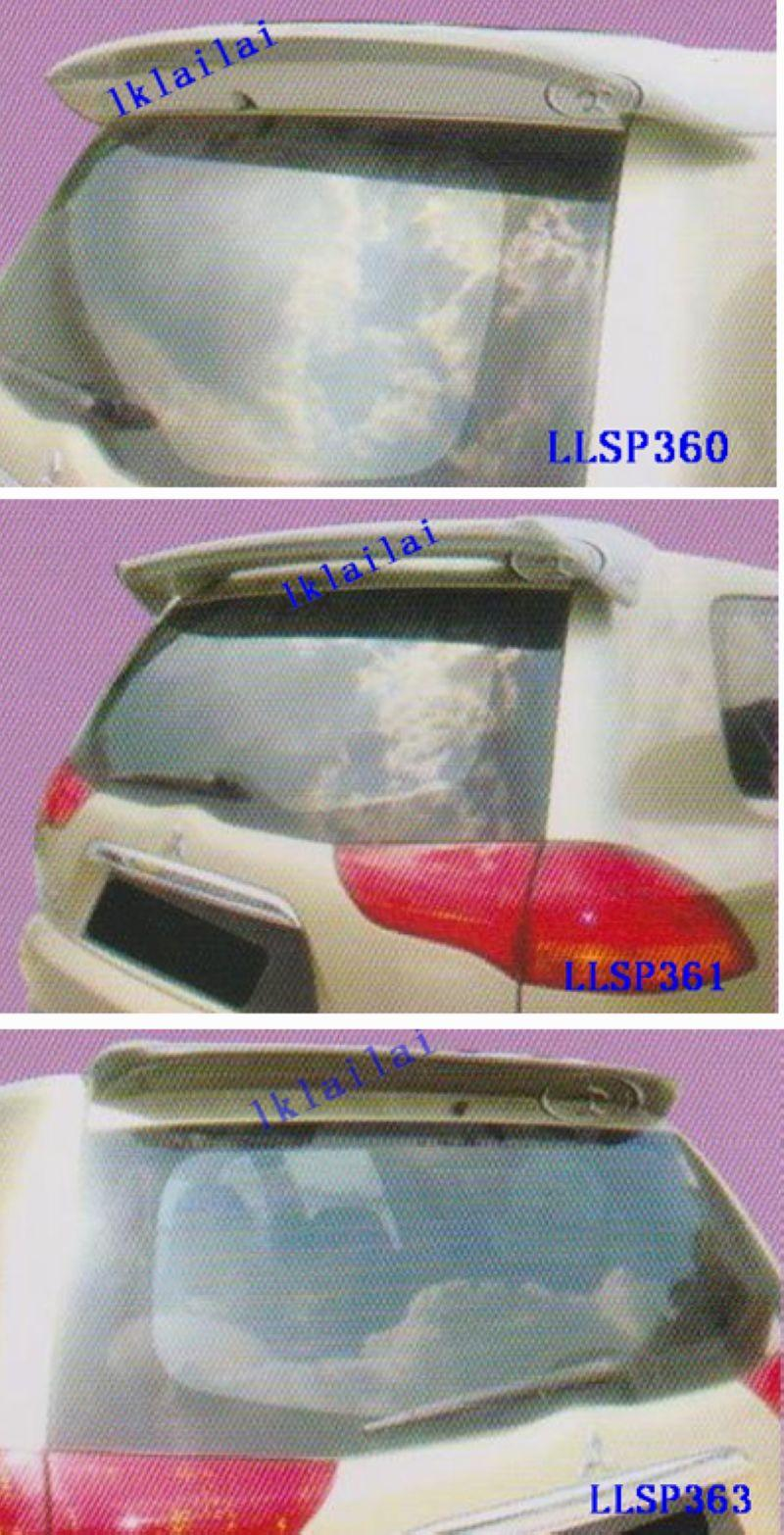 Pajero Sport Spoiler [Fiber Material] Without Paint