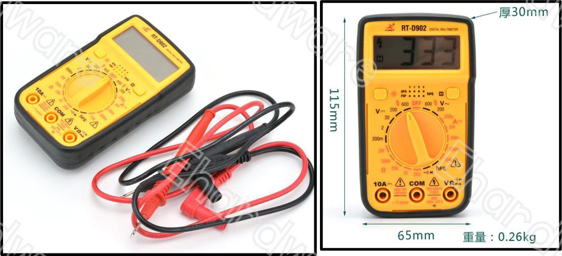 Rt Engineering Digital Meter : Palm size digital multimeter end  am myt