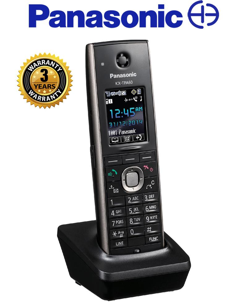 Panasonic Additional SIP Cordless Phone KX-TPA60UKB TPA60