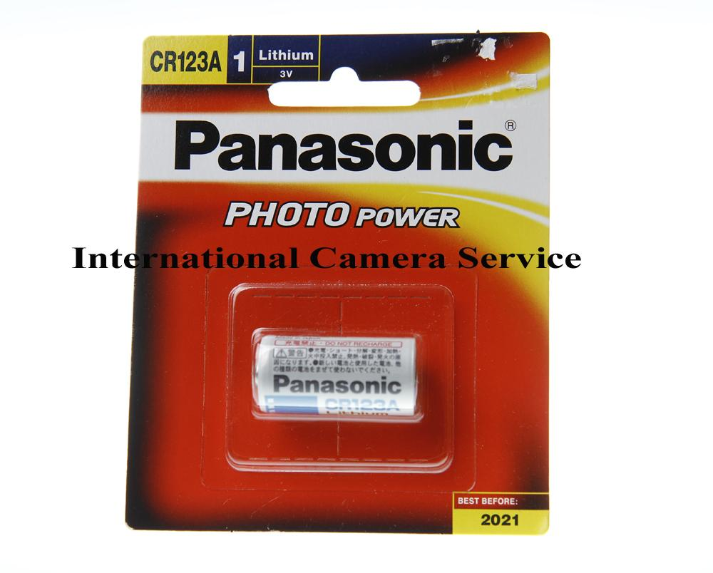Panasonic CR123 Lithium 3V Battery