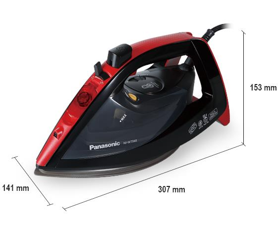 Panasonic Electric Iron, NI-WT960R