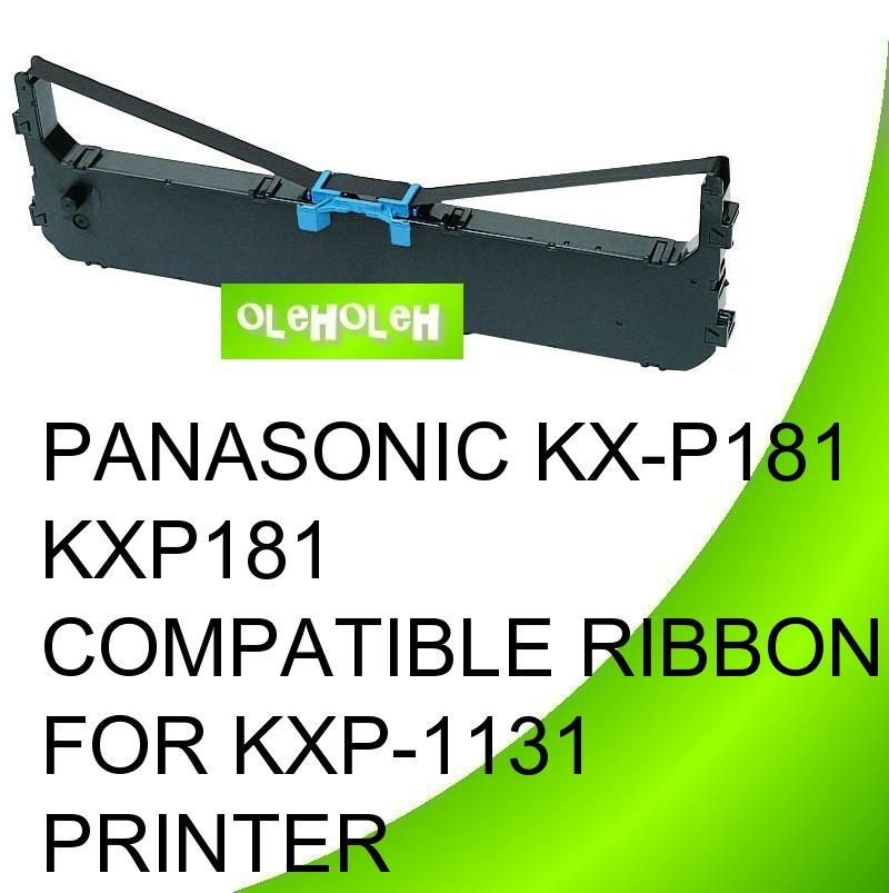 PANASONIC KX-P181 KXP181 Compatible Ribbon For KXP-1131 Printer