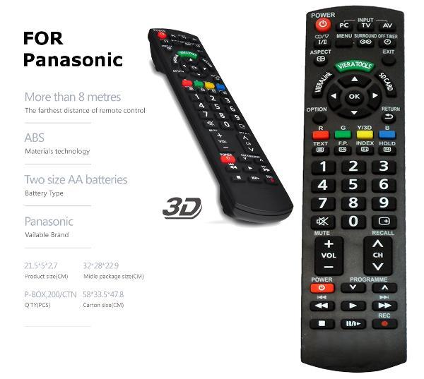 PANASONIC LCD LED TV REMOTE CONTRO End 6 30 2018 315 PM